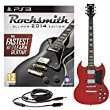 Rocksmith 2014 PS3 + Brooklyn Electric Guitar Red