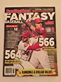img - for Sporting News Fantasy Baseball 2016 Mike Trout and Bryce Harper Cover book / textbook / text book