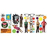 RoomMates RMK2166SCS  Big Bang Theory Peel and Stick Wall Decals