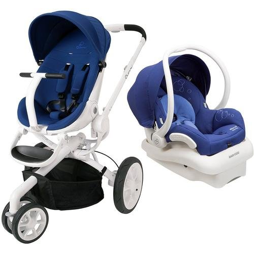 Quinny Moodd Travel System, Blue Defiance front-1047500