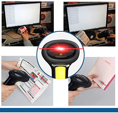 Free Shipping!ALANDA Wireless Barcode Scanner bar Code Reader 2.4G 10m Laser Barcode Scanner Wireless/Wired For Windows CE (Taotronics Car Lights Led compare prices)