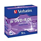 Verbatim DVD+R Rohlinge 8x Double Layer 8