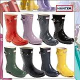 [2012最新作/リクエスト販売] <BR>HUNTER BOOTS ハンター レインブーツ レディース 長靴 ハンターブーツ 'Original Short' Rain Boot (Women) ショート レインブーツ全8色 女性 雨用 アウトドア