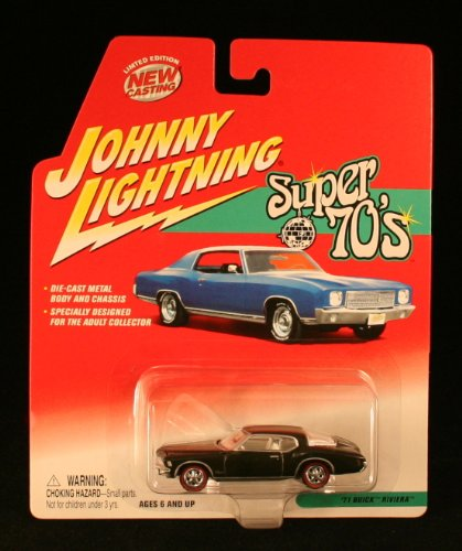 1971 Buick Riviera * Super 70'S * 2002 Johnny Lightning 1/64 Scale Die-Cast Vehicle