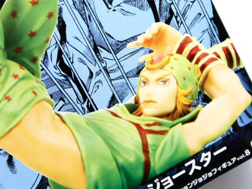 ジョジョの奇妙な冒険 DXコレクションジョジョフィギュアvol.8 プライズ バンプレスト(全2種フルセット)