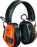 3M Peltor WS Tactical Sport Communications Headset, 20 dB Noise Reduction, Orange/Green
