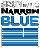 GRiPhone Colored Narrow ブルー ベタつかないすべり止めクッションシート グリフォン・ナロウ 細型グリップシール