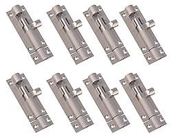 Klaxon KB-75x9M Brass Tower Bolt (Pack Of 8 Pcs)