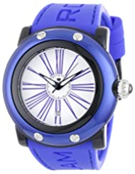 Glam Rock Women's GR62014 Miami Beach White Dial Dark Blue Silicone Watch