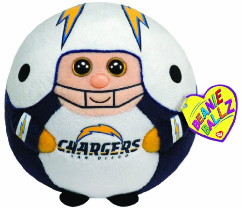 Ty Beanie Ballz San Diego Chargers - NFL Ballz at Amazon.com