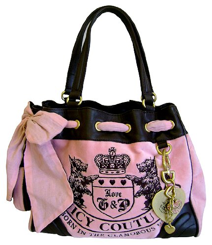 Juicy Couture Velour Purse Pink Best Image Ccdbb
