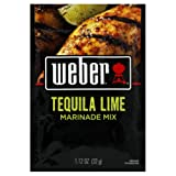 Weber Grill Tequila Lime Marinade Mix, 1.12-ounce