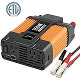 Ampeak 750W Power Inverter DC 12V to 110V AC Converter with 2.1A USB Dual AC Outlets Car Inverter