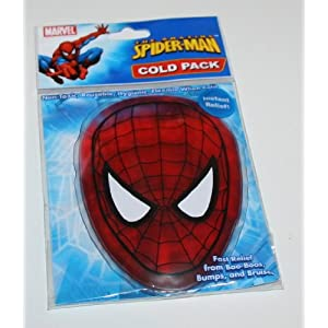 Amazing SPIDER MAN Cold Pack for Instant Pain Relief Non-toxic, Reusable and Hygienic