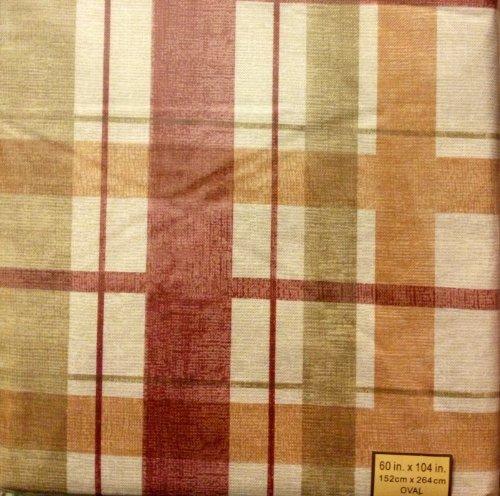 Fashion Vinyl Tablecloth 60