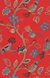 Crown Wallcoverings The Wallpaper Collection Paradise Flamenco Red M0738