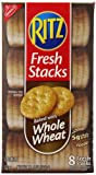 Ritz Fresh Stacks Crackers, Baked with Whole Wheat 11.6 Ounce Box (Pack of 6)