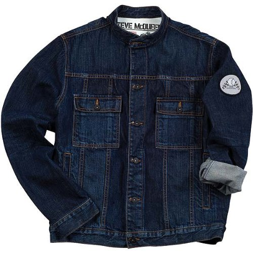 Troy Lee Designs The McQueen Men's Casual Wear Jacket - Denim / X-Large