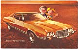 1972 Ford Gran Torino Car Advertising RPPC Postcard
