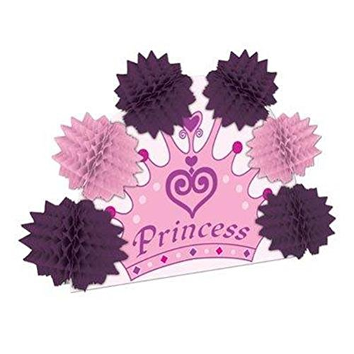 Princess Crown Pop-Over Centerpiece Party Accessory (1 count) (1/Pkg)