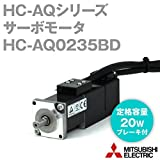 三菱電機 HC-AQ0235BD サーボモータ HC-AQシリーズ (小容量・超低慣性) (定格出力容量 20W) NN