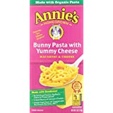 Annie's Homegrown Mac and Cheese, Bunny Shape Pasta and Yummy Cheese, 6 Ounce (Pack of 3)