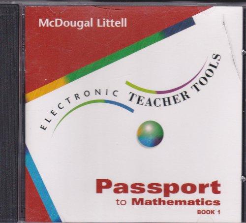 Passport To Mathematics Book 1 Electronic Teacher Tools