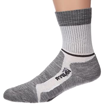 Rywan Climasocks Universel, Chaussettes mixte adulte  47-50 - Gris anthracite, Polyester