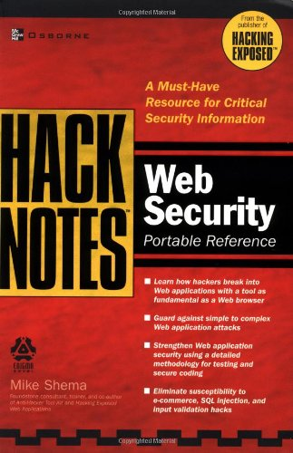 HackNotes Web Security Pocket Reference