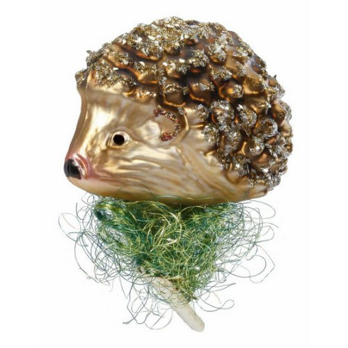 Inge Glas Hedgehog Clip-On Ornament 68377