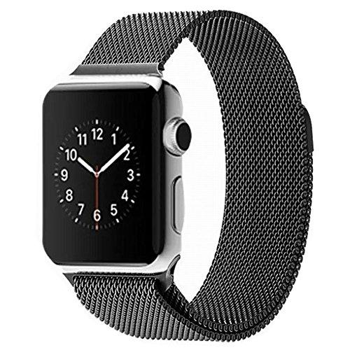 Apple-Watch-BandaAmytech-42mm-Con-Cerradura-Imn-nico-Correa-de-Acero-Inoxidable-Reemplazo-de-Banda-de-la-Mueca-para-Apple-Watch-Todos-los-Modelos-42mm-No-Hebilla-Needed