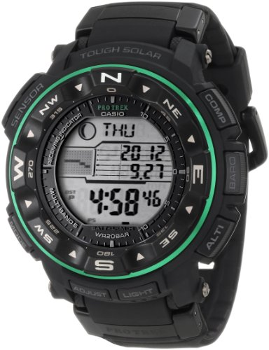 Casio Men's PRW2500-1B ProTrek Tough Solar Atomic Digital Watch