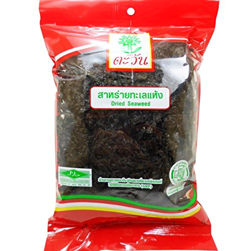 Dried Seaweed For Cooking Health Nutritious Food Net Wt 25 G (0.88 Oz) Tawan Brand X 3 Bags