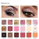 Eyeshadow Palette Makeup ,Vanvler 18 Colors Gliter Eyeshadow Powder (1#)