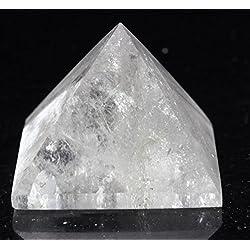 """Clear Quartz Crystal Pyramid 1"""" to 1 1/4""""."""