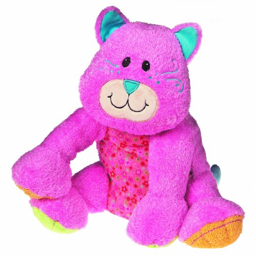 "Mary Meyer Cheery Cheeks, Giddy Kitty, 12"" front-873143"
