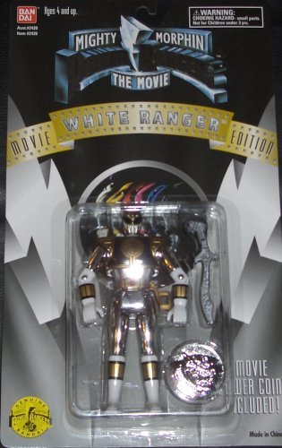 White Ranger Movie Edition by Power Rangers (Power Ranger Power Coins compare prices)