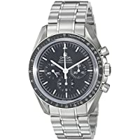 Omega Speedmaster Analog Display Mechanical Hand Wind Men's Watch (Silver)