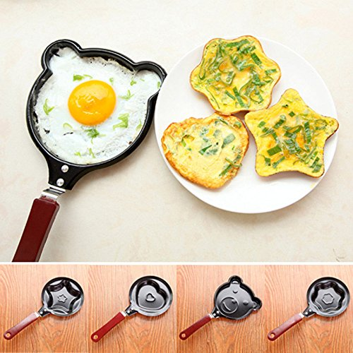 4pcs New Kitchen Non Stick Egg Frying Pancakes Pan Housewares Easy Mould Cook Tools (Steel Roofing Panels compare prices)