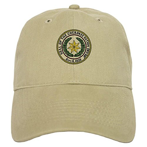 CafePress - Great Seal of the Cherokee Nation Cap - Baseball Cap with Adjustable Closure, Unique Printed Baseball Hat (Great Seal Hat compare prices)