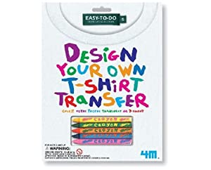4m Design Your Own T Shirt Transfers Toys Games