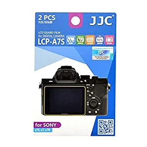 JJC LCP-A7S Guard Film Digital Camera LCD Screen Protector For Sony A7S A7 A7R