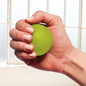 Gaiam Restore Hand Therapy Exercise Ball Kit
