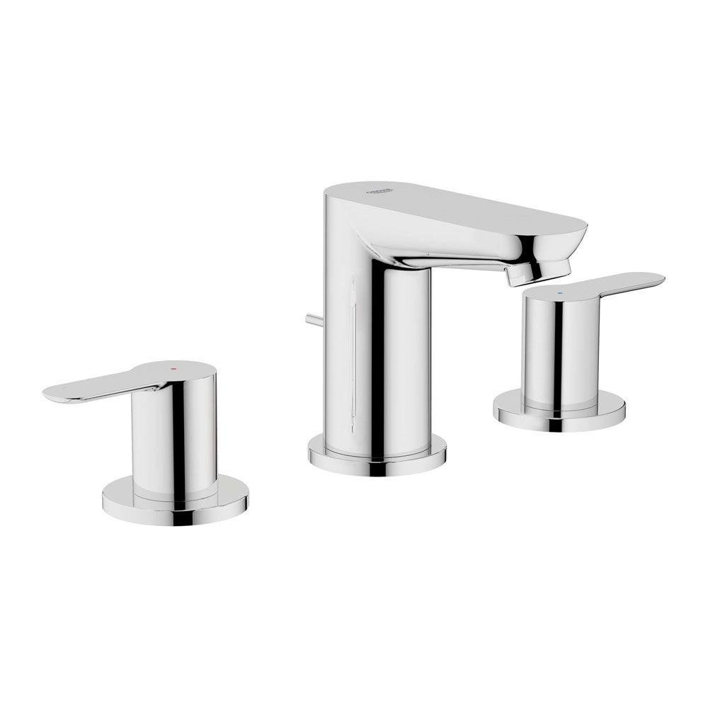 Grohe 20374000 Bau Edge Widespread Lavatory Faucet