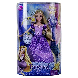 Disney Tangled Sing and Glow Rapunzel Doll