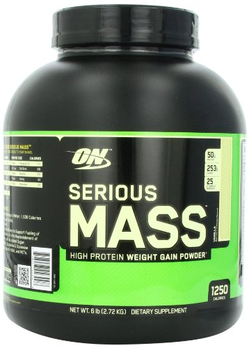 Optimum Nutrition Serious Mass 2720 g Vanilla Weight Gain Powder