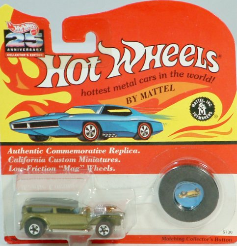 Hot Wheels California Custom Miniatures with Collectors Button