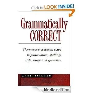 Grammatically Correct English