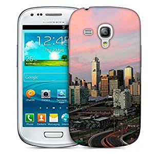 Snoogg Roads In City Designer Protective Phone Back Case Cover For Samsung Galaxy S3 Mini