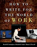 img - for How to Write for the World of Work, Seventh Edition book / textbook / text book